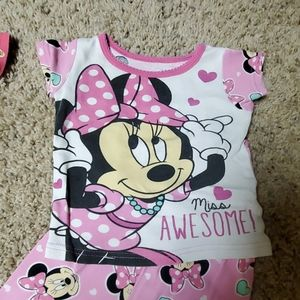 Disney Pajamas - Disney & Nickelodeon Toddler girl pjs sets 2t